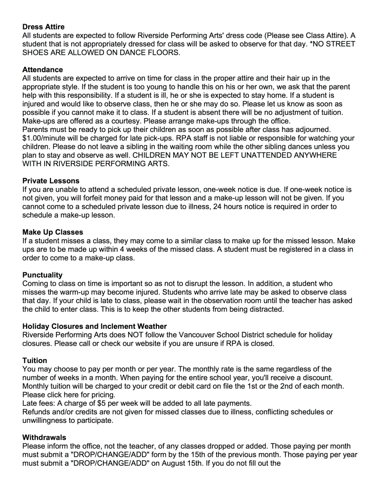 WAIVER OF LIABILITY POLICIES pg3