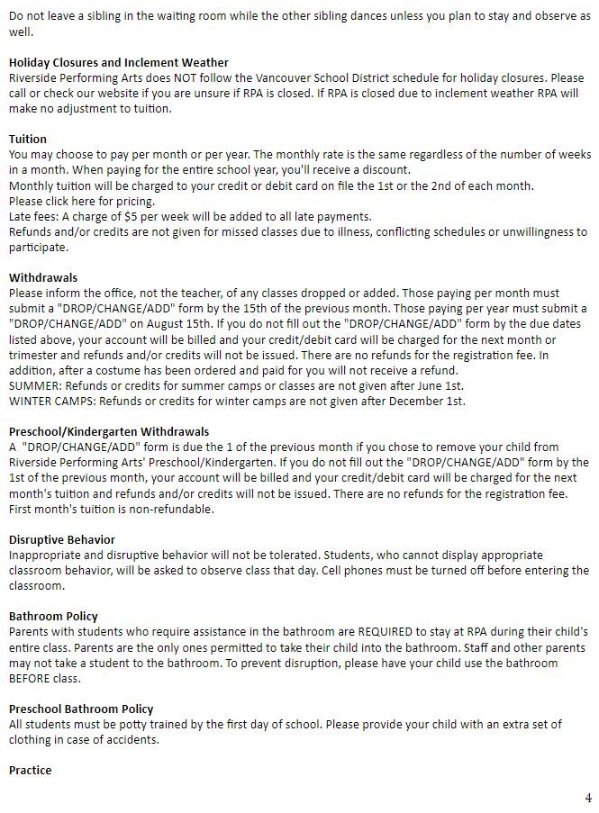 Waiver of Liability page 4
